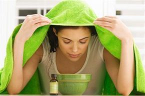 ASTUCES : Inhalations (aux huiles essentielles) contre lerhume
